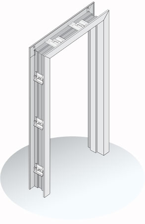 Exp 5000 Series Expandable Drywall Hollow Metal Frame