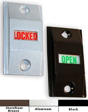 Lo 1000 Lock Indicator Set Includes Standard Header Sign