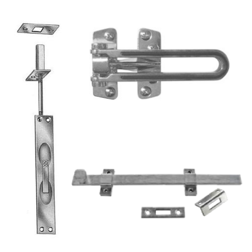 Flushbolts & Surface Security Bolts/Latches