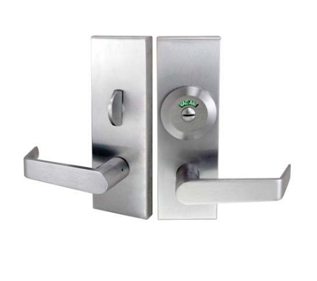 Privacy w/ Deadbolt, Coin Turn Outside and