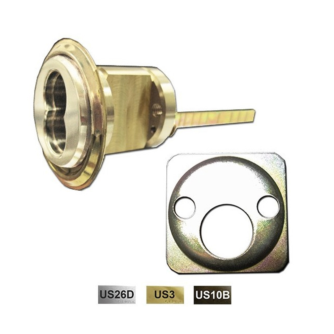 308 602 Best Falcon And Arrow 6 7 Pin Small Format Interchangeable Core Rim Cylinder