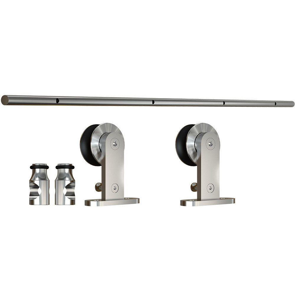 Sliding Door Set - Top Mount With SOFT STOP - Single wheal 6'6