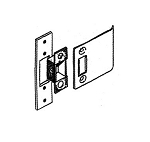 ST-4000 Strike Set, Center Hung Door & Frame (4