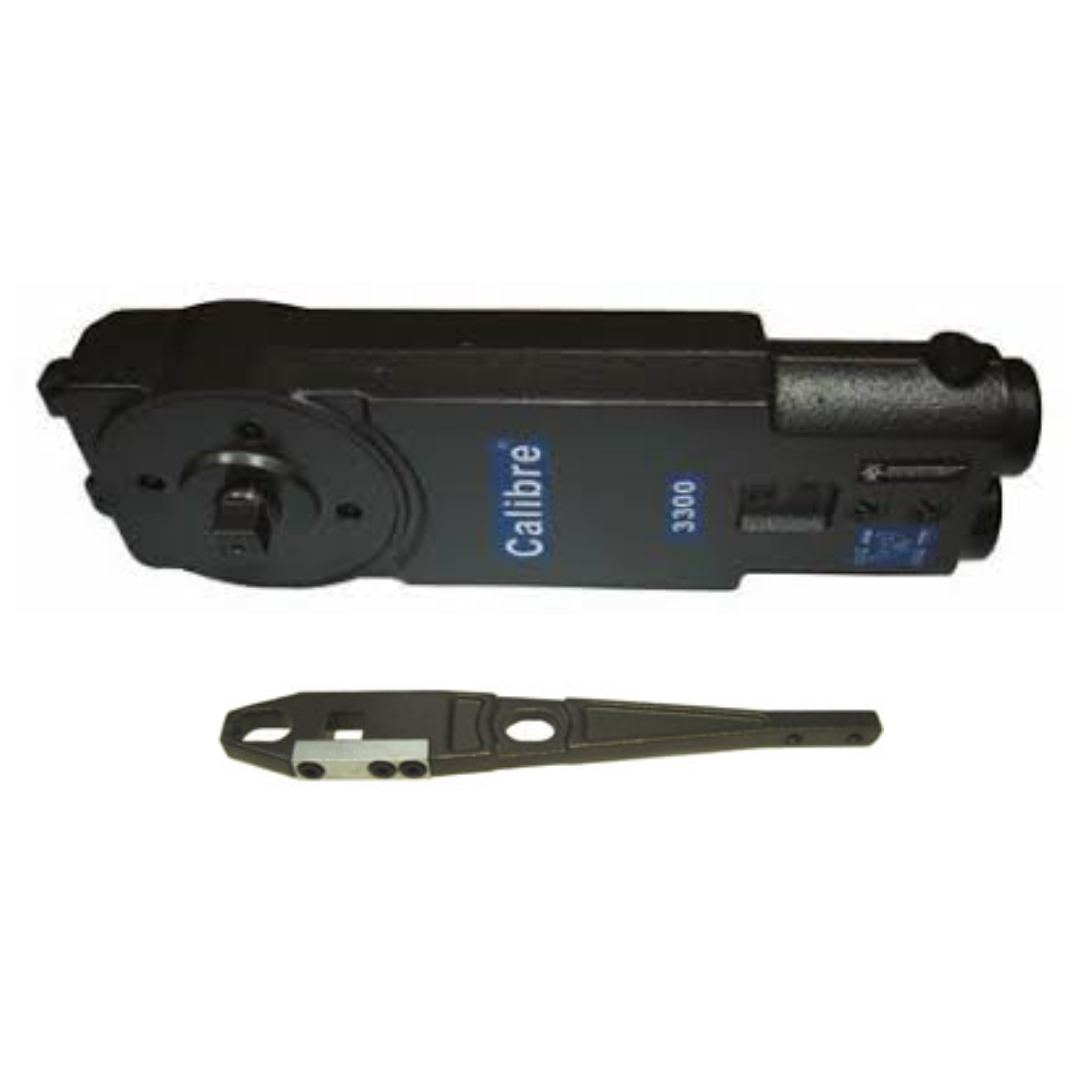 Calibre - CA3310 - Overhead Concealed Closer - Adjustable Spring Power - Center Hung - 105* Back Stop with Hold-Open