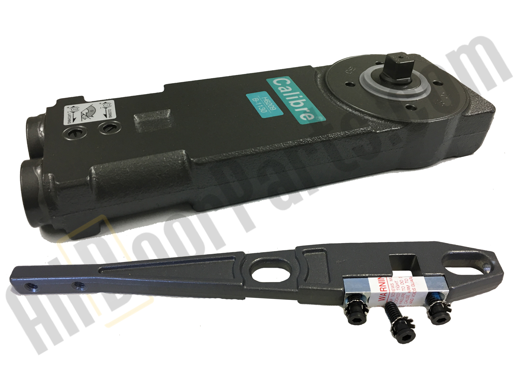 Calibre - CA2220 - Overhead Concealed Closer - Light Spring Tension - 105* Back Stop with Hold-Open