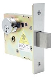 SM4628 Cal-Royal Small Mortise Deadbolt Double Cylinder