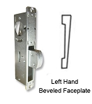 "DH-1824-S ""Short Throw"" Deadlock with Left-Hand Beveled  Faceplate"