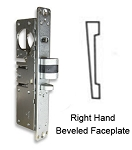 DL-4515 Deadlatch Lock with Right-Hand Beveled Faceplate