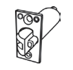 CAL750 - Fire Rated Anti-Friction Dead Latch
