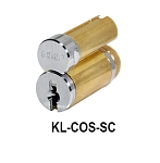 "KL-COS-SC - Schlage Large Format 6-Pin Core ""0-bitted"" Includes: • 2 keys"