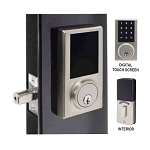 ZWDB-10 - Touch Screen Electronic Deadbolt