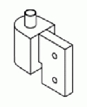 Kawneer Top Pivot (Door Portion for Tuffline Door)