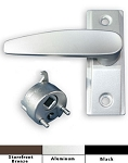 Lever Handle with Cam Plug