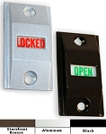 LO-1000 Lock Indicator Set (Includes Standard Header Sign)