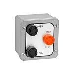 NEMA (3BX) 4 Exterior Three Button Surface Mount Control Station