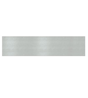 Metal Kick Plates with Screws 0.40' x 8' x 34'