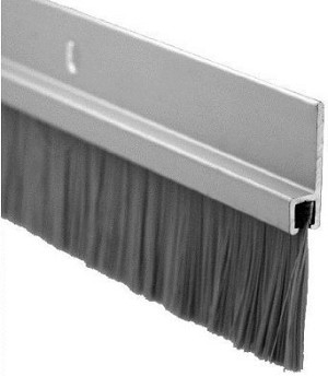 Nylon Brush Seal Door Sweep 36'