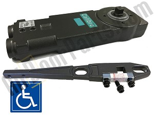 Calibre - CA2201 - Overhead Concealed Closer - ADA 5 lb. Handicap Spring  - 105* Back Stop NO Hold-Open