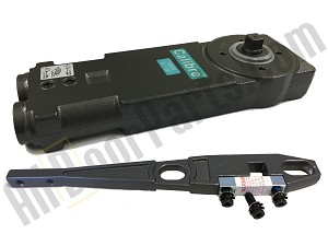 Calibre - CA2243 - Overhead Concealed Closer - Heavy Spring Tension - 90* Back Stop NO Hold-Open