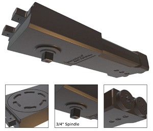 IDC - D200-SA Series Handicap & Standard with Extended Spindle Overhead Door Closer