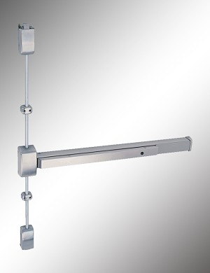 2200 ADA Series Surface Vertical Rod Push Bar Exit Device