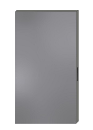 86 Prep - 3'0' x 7'0' - 18 Gauge Galvanized Steel Poly Flush Hollow Metal Door - S10 Series