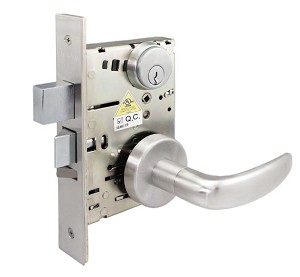 NM8456 Cal-Royal Mortise Lock Heavy Duty Grade 1 Corridor