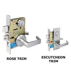 SC8453 Cal-Royal Mortise Lock Heavy Duty Grade 1 Entrance